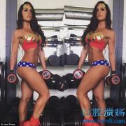 美国空军女牙医Alysia Macedo凭借其火辣身材成Instagram社交明星