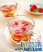 生姜、菊花泡水喝有效缓解口腔溃疡