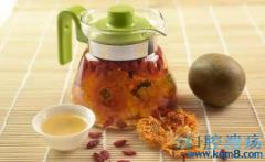 菊花罗汉果茶,缓解干燥症!